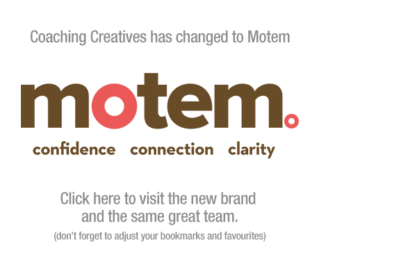 Coaching Creatives has changed to Motem